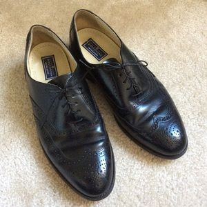 Bostonian Black Dress Shoes Shiny Sheen